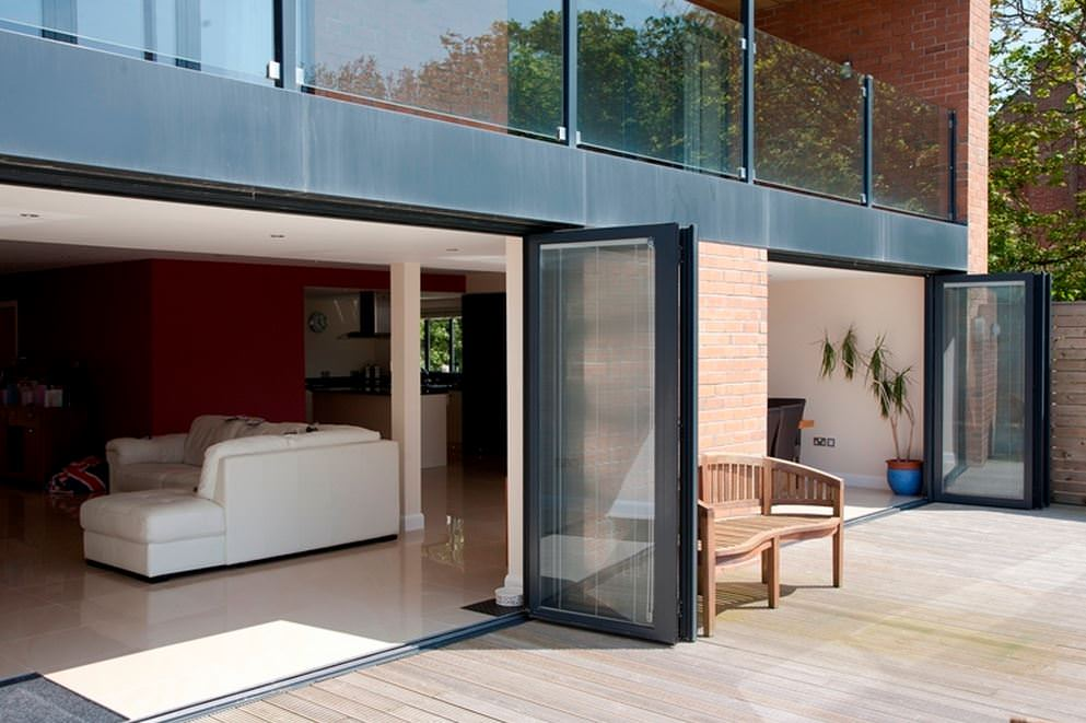 Bi Fold door from Oakwood Designs derby